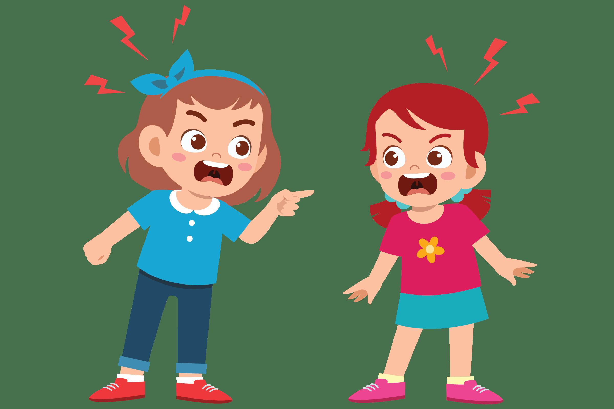 دعوای کودکانه نشانه چیست؟