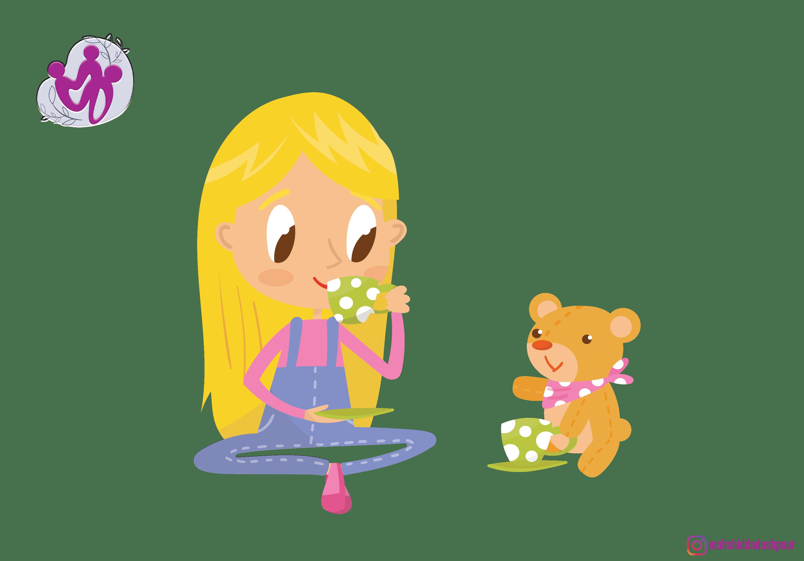 تنها بازی کردن کودک خوب است یا بد؟